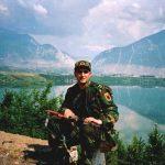 Më 23 prill 1999 në Has - gjatë rrugëtimit për në Krumë. (foto Halit Krasniqi)