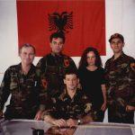 Një pjesë e Operativës, Spiro Butka, Gramoz Kelmendi, Flora Krasniqi dhe ulur Agron Haradinaj