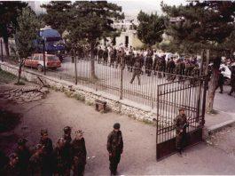 Pika e rekrutimit në Kukës - maj 1999