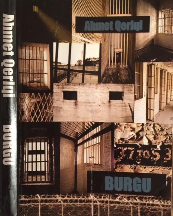 """Pamje nga kopertina e librit të Ahmet Qeriqit """"Burgu"""""""