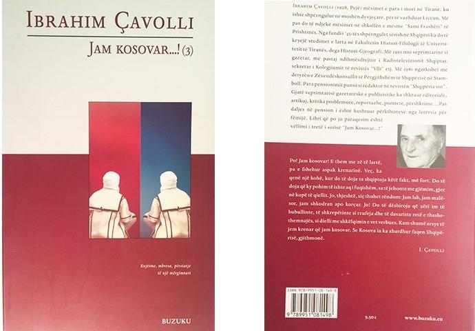"""Pamje e librit të autorit Ibrahim Çavolli """"Kujtime, mbresa, pershtatje, te nje mërgimtari"""""""