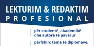 Lekturim dhe redaktim profesional