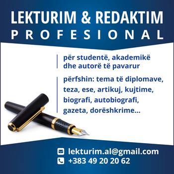 Lekturim dhe redaktim