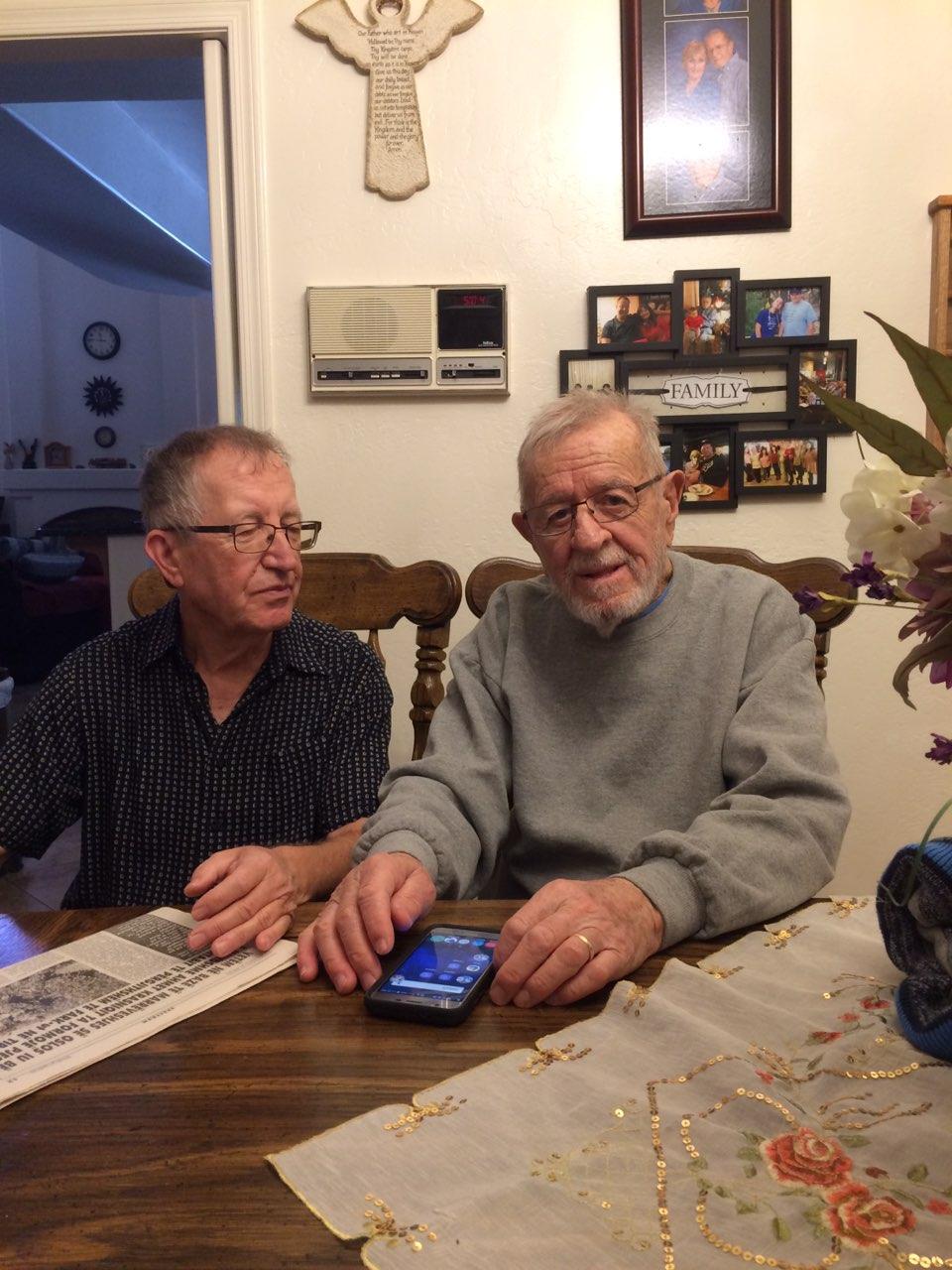 R. Barolli me autorin e shkrimit